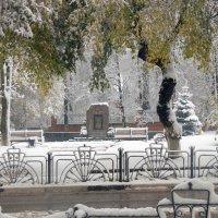 Сквер ветеранов в Клину :: Вячеслав