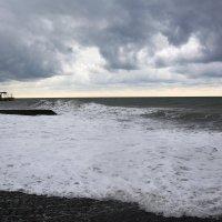 Неспокойное море... :: Дмитрий Петренко