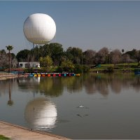 Воздушный шар в парке Яркон, Тель Авив. :: Lmark