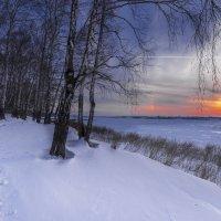 Февральский вечер :: Сергей Добрыднев