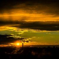 Закат над Москвой :: Karolina