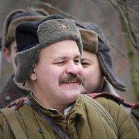 бравый солдат  (из серии 23 февраля) :: ник. петрович земцов