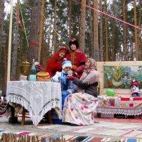Масленица . Празднование по -русски в деревенской избе. :: Наталья Петровна Власова