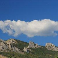Облако над Карадагом :: Валерий Самородов