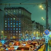 Москва. Тверская улица. Конец февраля. :: Игорь Герман