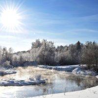 Морозное утро на Истре :: Ирина Бирюкова