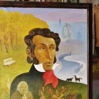 Портрет окончен ...        х.,м., 90-70 см. :: Святец Вячеслав