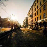 Вечерние улицы Хабаровска 2 :: Виктор