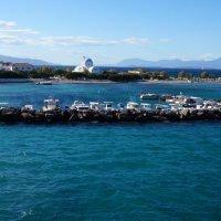 Греция. Остров Агистри. Курортный поселок Скала. :: Нелли Семенкина