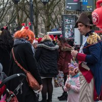 Толстовский герой! Карнавал в Дюссельдорфе! :: Witalij Loewin