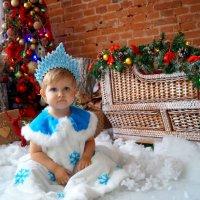 Самая очаровательная снегурочка :: Евгения Сенченко