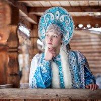 Жила-была снегурочка... :: Дмитрий Постников