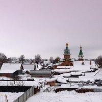 Зима в провинции. :: Мила Бовкун