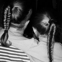 Папа и дочка :: Катерина Клаура