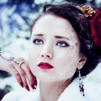 Зимняя королева :: Марина Дадонова