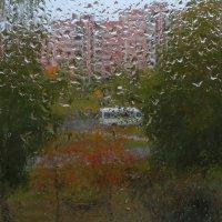 Дождь постучался за окном... :: Николай Котко
