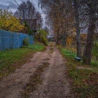 Осень в д. Соловцово :: Евгений Иванов