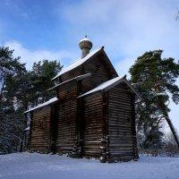Церковь Троицы из Рекеньской Пустыни :: Ольга Чистякова