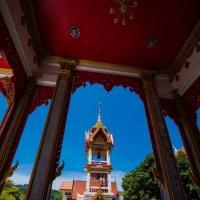 Буддистский храм в городе Пхукет, остров Пхукет, Тайланд :: Pavel Shardyko