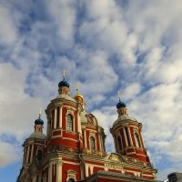 "Вариации на тему ""Храм и небо"" :: Андрей Лукьянов"