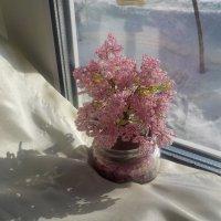Весенний букетик из бисера :: Ольга