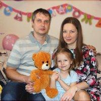 Я с мамочкой, с папочкой и с любимым мишкой. :: Anatol Livtsov