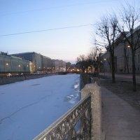 Набережная реки Мойки. Март :: Маера Урусова