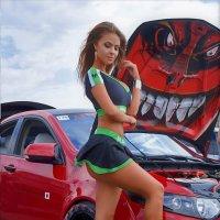 девушка и авто :: Юрий Дыхлин