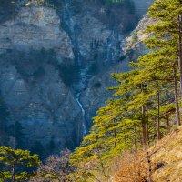 Ожившая вода среди леса и скал :: Сергей Яворский