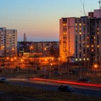 Вид из окна. Вечер :: Николай Котко