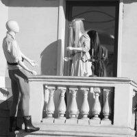 На призыв мой тайный, страстный о, друг мой прекрасный, выйди на балкон! :: Ирина Атаманская