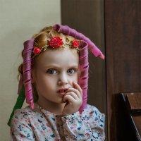 ...перед выступлением. :: Татьяна Полянская