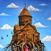 Летающий храм :: Анатолий Колосов