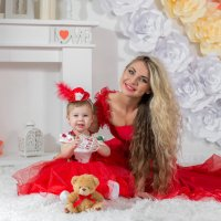 Мама и Дочка :: Ирина Малинина