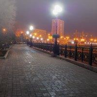 Донецк. Набережная. Туман :: Олег Зак