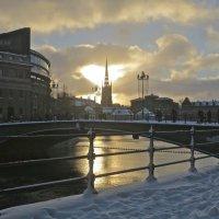 ранний зимний закат :: Елена