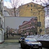 В переулках Старого Арбата :: Вера Бокарева