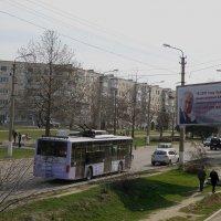 Проспект Октябрьской революции :: Александр Рыжов