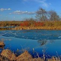 Весенний пейзаж... :: Юрий Анипов