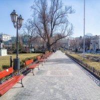 Утро 8 марта в Городском саду. :: Вахтанг Хантадзе