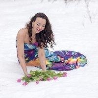 Цветы на снегу :: Ренат Менаждинов