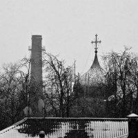 Архитектура Пскова. Купола и трубы. :: Fededuard Винтанюк