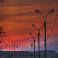 трасса на закате :: Алина Гриб
