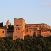 Альгамбра на закате :: Наталья