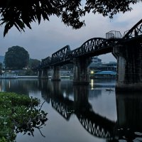 Мост через реку Квай :: Евгений Печенин