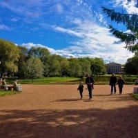 Зайти в Юсуповский Сад... :: Sergey Gordoff