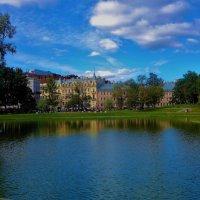 Осенняя магия  Юсуповского Сада... :: Sergey Gordoff