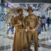 Живые скульптуры :: Елена Логачева