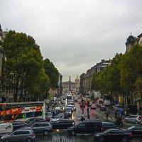 Париж. Дождливый вечер. :: Сергей Фомичев