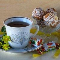 Чаепитие с Весной :: Татьяна Смоляниченко